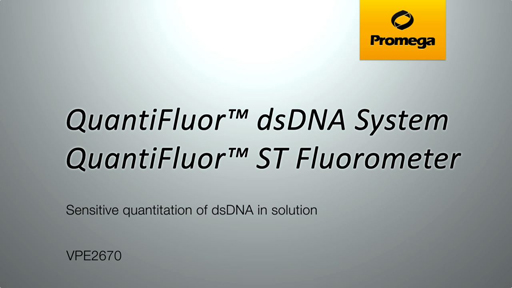 QuantiFluor dsDNA System Video